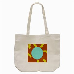 Abstract Sun Tote Bag (cream) by Valentinaart