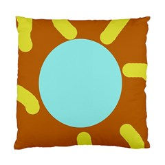 Abstract Sun Standard Cushion Case (two Sides) by Valentinaart