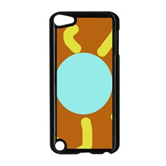 Abstract Sun Apple Ipod Touch 5 Case (black) by Valentinaart