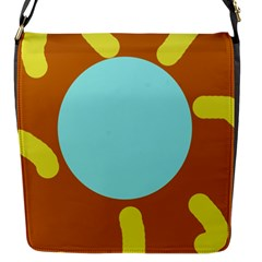 Abstract Sun Flap Messenger Bag (s)