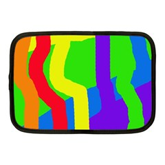 Rainbow Abstraction Netbook Case (medium)  by Valentinaart