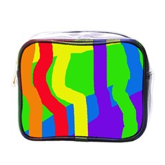 Rainbow Abstraction Mini Toiletries Bags