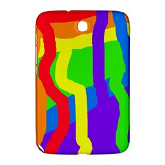 Rainbow Abstraction Samsung Galaxy Note 8 0 N5100 Hardshell Case  by Valentinaart