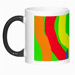 Rainbow Abstraction Morph Mugs by Valentinaart