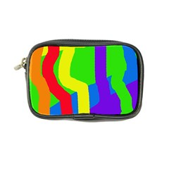 Rainbow Abstraction Coin Purse by Valentinaart
