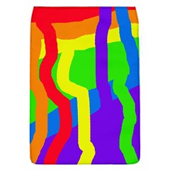 Rainbow Abstraction Flap Covers (l)  by Valentinaart