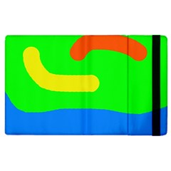 Rainbow Abstraction Apple Ipad 3/4 Flip Case by Valentinaart