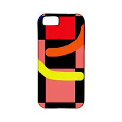 Multicolor Abstraction Apple Iphone 5 Classic Hardshell Case (pc+silicone) by Valentinaart