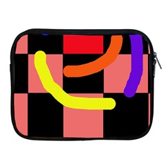 Multicolor Abstraction Apple Ipad 2/3/4 Zipper Cases by Valentinaart