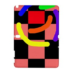Multicolor Abstraction Samsung Galaxy Note 10 1 (p600) Hardshell Case by Valentinaart