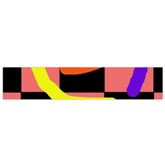 Multicolor Abstraction Flano Scarf (small) by Valentinaart