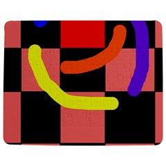 Multicolor Abstraction Jigsaw Puzzle Photo Stand (rectangular) by Valentinaart