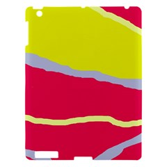 Red And Yellow Design Apple Ipad 3/4 Hardshell Case by Valentinaart