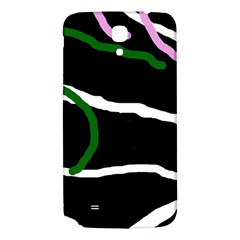 Decorative Lines Samsung Galaxy Mega I9200 Hardshell Back Case by Valentinaart