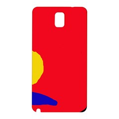 Colorful Abstraction Samsung Galaxy Note 3 N9005 Hardshell Back Case by Valentinaart
