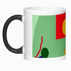 Optimistic Abstraction Morph Mugs by Valentinaart