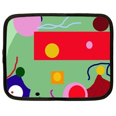 Optimistic Abstraction Netbook Case (xxl)  by Valentinaart