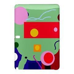 Optimistic Abstraction Samsung Galaxy Tab Pro 10 1 Hardshell Case by Valentinaart