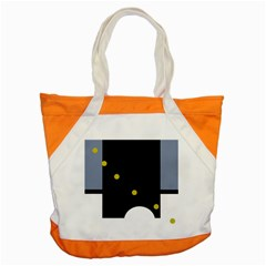 Abstract Design Accent Tote Bag by Valentinaart