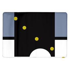 Abstract Design Samsung Galaxy Tab 10 1  P7500 Flip Case by Valentinaart