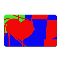 Abstract Hart Magnet (rectangular) by Valentinaart