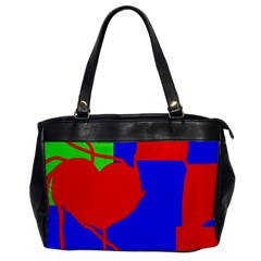Abstract Hart Office Handbags by Valentinaart