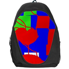 Abstract Hart Backpack Bag by Valentinaart