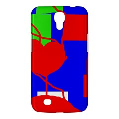 Abstract Hart Samsung Galaxy Mega 6 3  I9200 Hardshell Case by Valentinaart