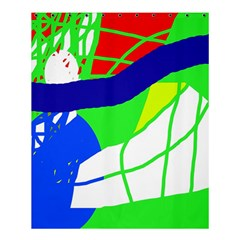 Colorful Abstraction Shower Curtain 60  X 72  (medium)  by Valentinaart