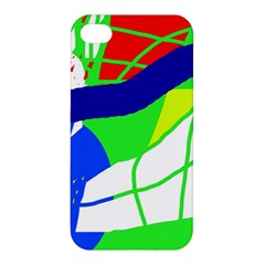 Colorful Abstraction Apple Iphone 4/4s Hardshell Case by Valentinaart