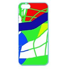 Colorful Abstraction Apple Seamless Iphone 5 Case (color) by Valentinaart