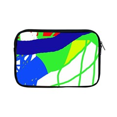 Colorful Abstraction Apple Ipad Mini Zipper Cases by Valentinaart