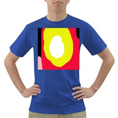 Colorful Abstraction Dark T Shirt by Valentinaart