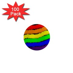 Rainbow 1  Mini Magnets (100 Pack)  by Valentinaart