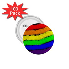 Rainbow 1 75  Buttons (100 Pack)  by Valentinaart