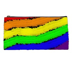 Rainbow Pencil Cases by Valentinaart