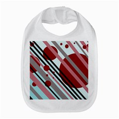 Colorful Lines And Circles Bib