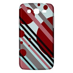 Colorful Lines And Circles Samsung Galaxy Mega 5 8 I9152 Hardshell Case  by Valentinaart