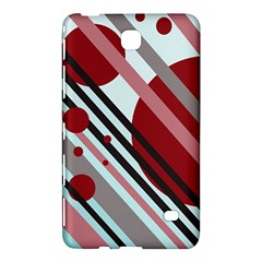 Colorful Lines And Circles Samsung Galaxy Tab 4 (7 ) Hardshell Case  by Valentinaart