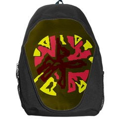 Abstraction Backpack Bag by Valentinaart