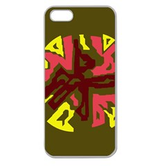 Abstraction Apple Seamless Iphone 5 Case (clear) by Valentinaart
