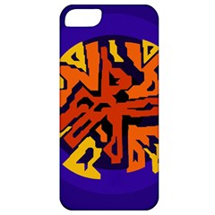 Orange Ball Apple Iphone 5 Classic Hardshell Case by Valentinaart