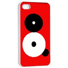 Number Eight Apple Iphone 4/4s Seamless Case (white) by Valentinaart