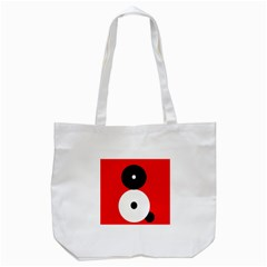 Number Eight Tote Bag (white) by Valentinaart