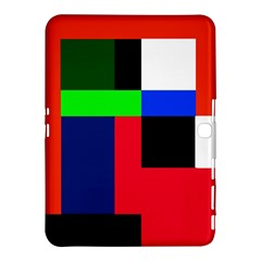 Colorful Abstraction Samsung Galaxy Tab 4 (10 1 ) Hardshell Case  by Valentinaart