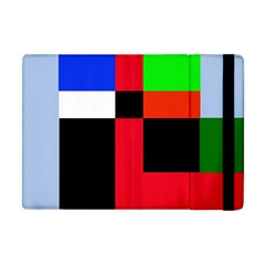 Colorful Abstraction Apple Ipad Mini Flip Case by Valentinaart