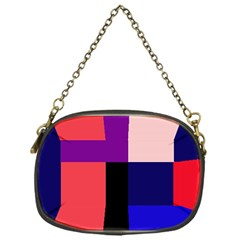 Colorful Abstraction Chain Purses (one Side)  by Valentinaart