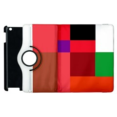 Colorful Abstraction Apple Ipad 3/4 Flip 360 Case by Valentinaart