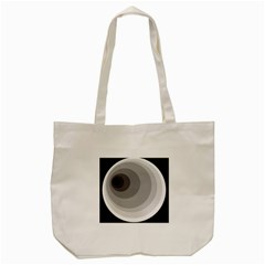 Gray Abstraction Tote Bag (cream) by Valentinaart