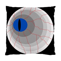 Blue Eye Standard Cushion Case (one Side) by Valentinaart